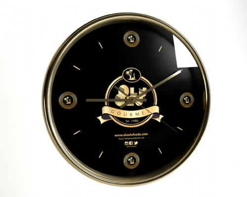 Wall Clock (Black/White)